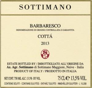 Sottimano Barbaresco Cotta